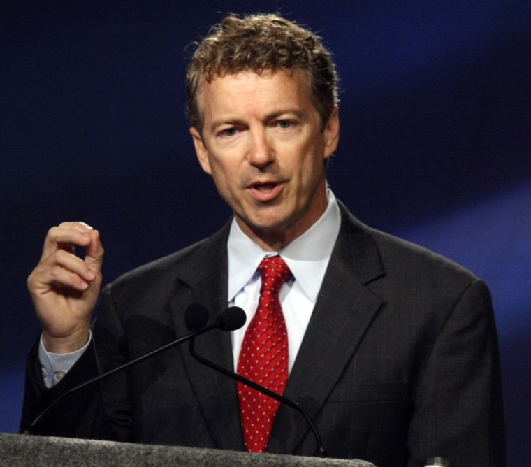 Rand Paul kicks up more controversy: 'I wasn't sure [Obama's] views on marriage could get any gayer'
