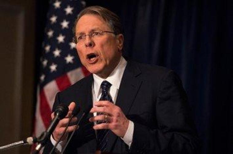 NRA's Wayne LaPierre: Be afraid, be very afraid