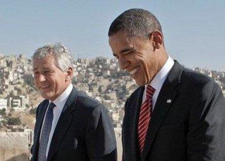 On nukes, Hagel is in good company