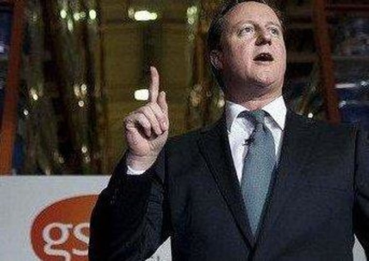 David Cameron's economy still isn't pointing in the right direction.