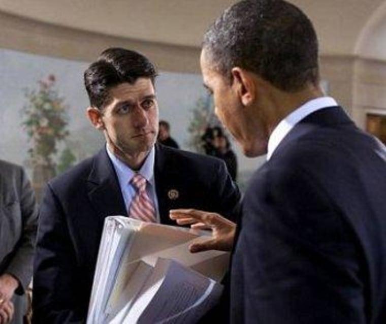 Paul Ryan vs. Paul Ryan