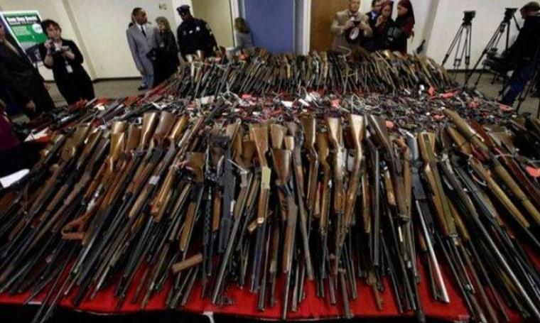 Five shot at 'Gun Appreciation Day' events