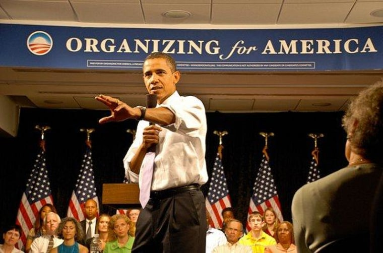 Obama campaign structure relaunches as new political group