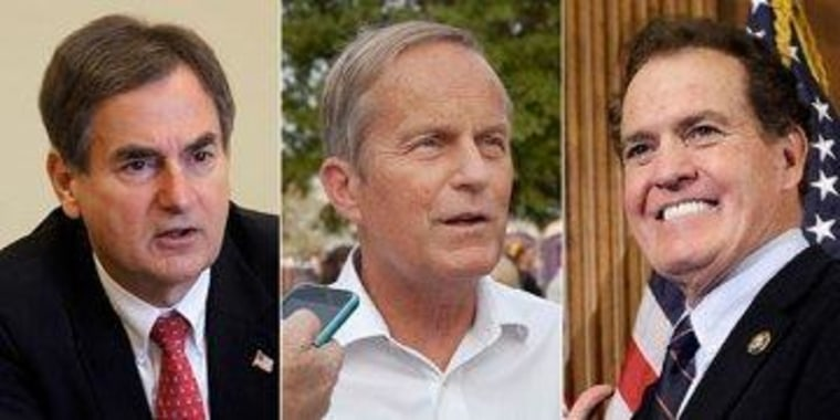 Richard Mourdock, Todd Akin, and Phil Gingrey