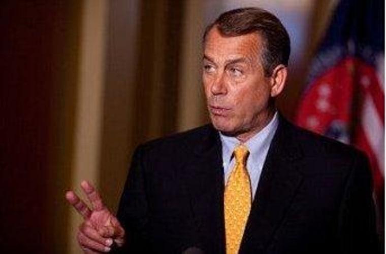 Boehner may need a Plan C