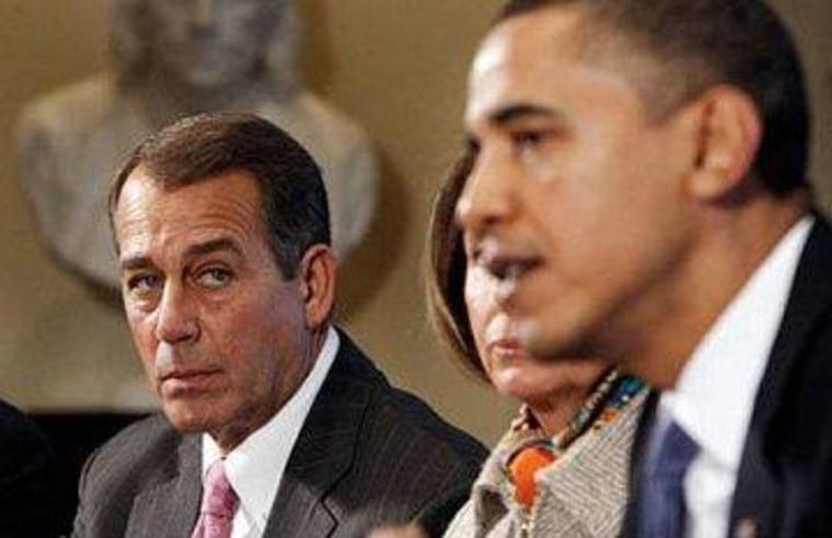 Obama, Boehner inch closer to debt deal