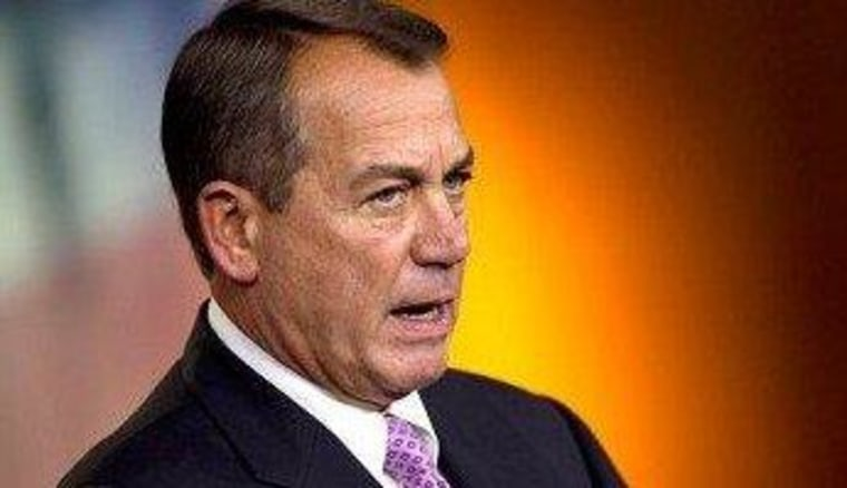Boehner makes another offer in fiscal talks