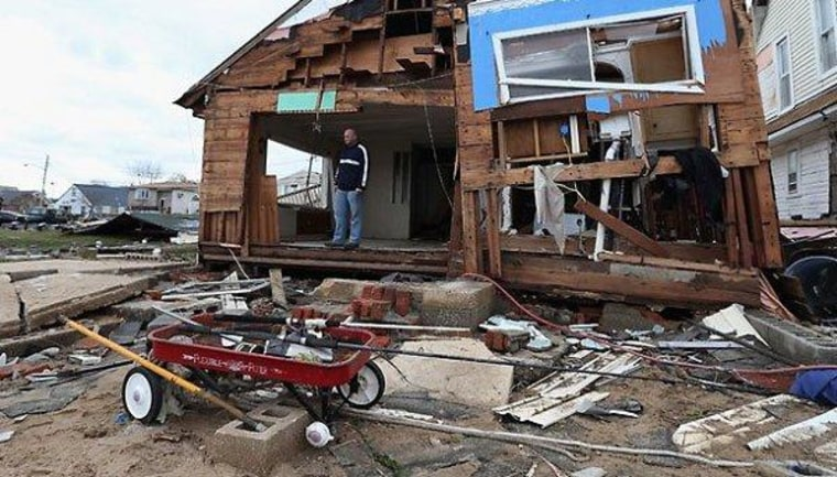 Hurricane Sandy relief aid already in jeopardy in Congress