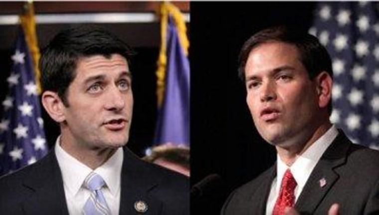 Ryan, Rubio, and a fresh coat of paint