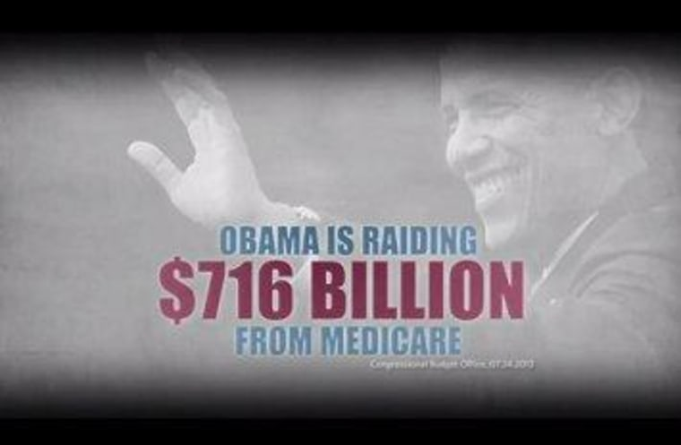 From a Romney/Ryan campaign ad aired in August.