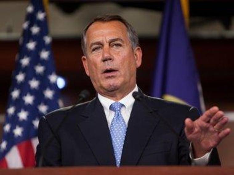 Boehner jumps into Senate's filibuster-reform fight