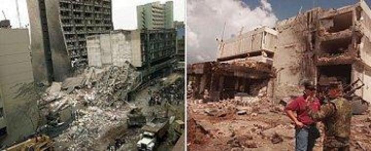 American Embassy bombings in Kenya and Tanzania in 1998.