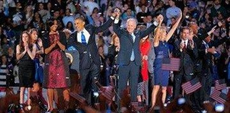 This really was the end of the 2012 presidential race.
