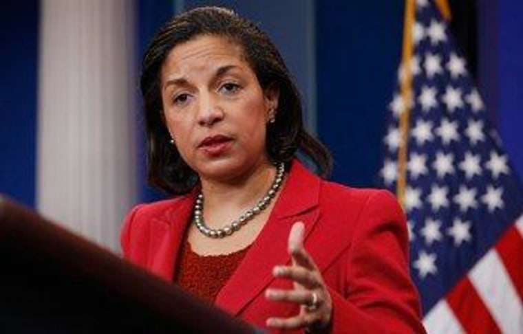 Susan Rice to meet with GOP accusers