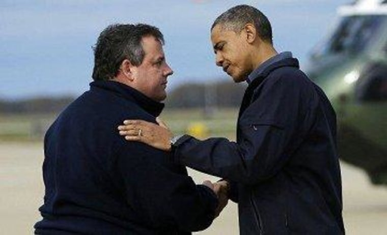 Chris Christie's other clean-up effort