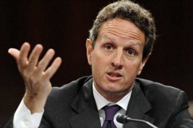Geithner: Time to scrap the debt ceiling