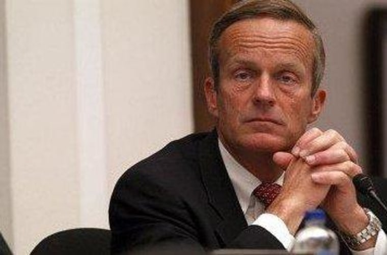 Akin gets by with a little help from his friends in DC