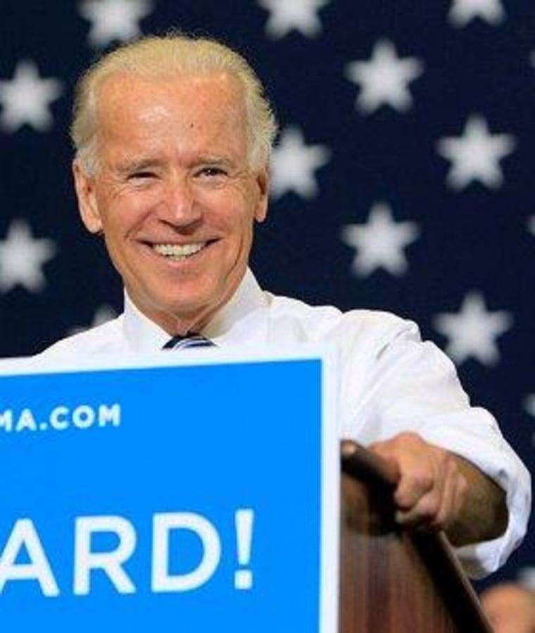 Biden smacks 'scurrilous' GOP claims
