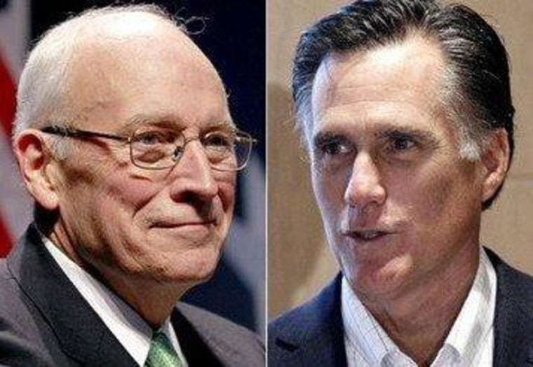 Dick Cheney, Glenn Beck, and Reince Priebus walk into a fundraiser...