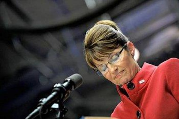 Palin stoops to 'shuck and jive'