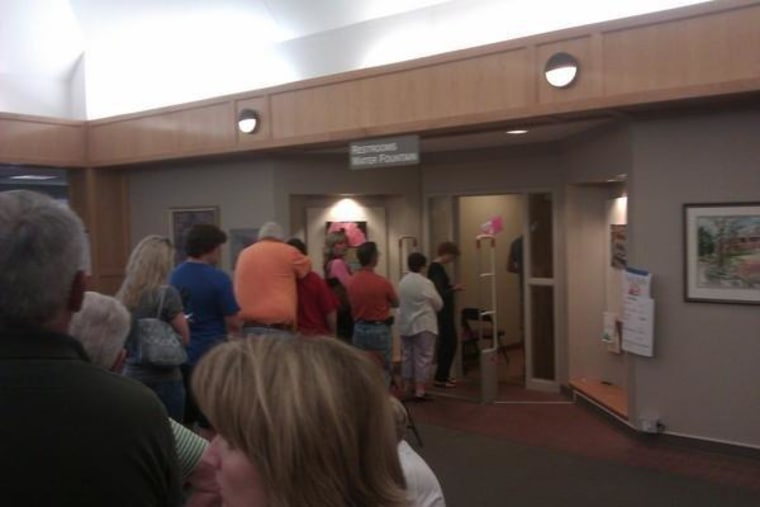 Early voting started yesterday in Arkansas