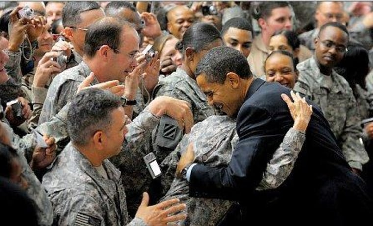 Military contributions favor Obama over Romney