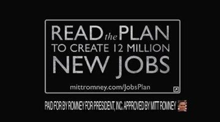 Romney's central jobs argument exposed as fraudulent