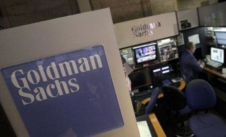 Hurting Goldman Sachs' feelings