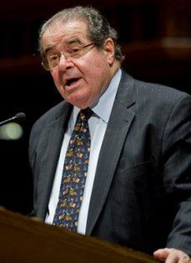 What Scalia considers 'easy'