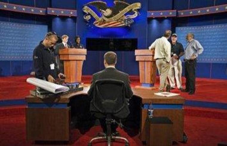 The debate before the debate