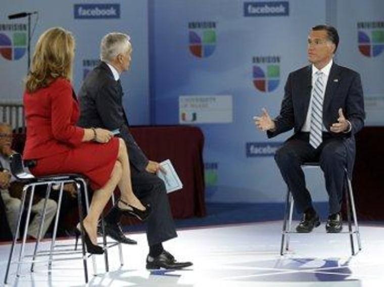 Romney's behind-the-scenes 'tantrum' at Univision