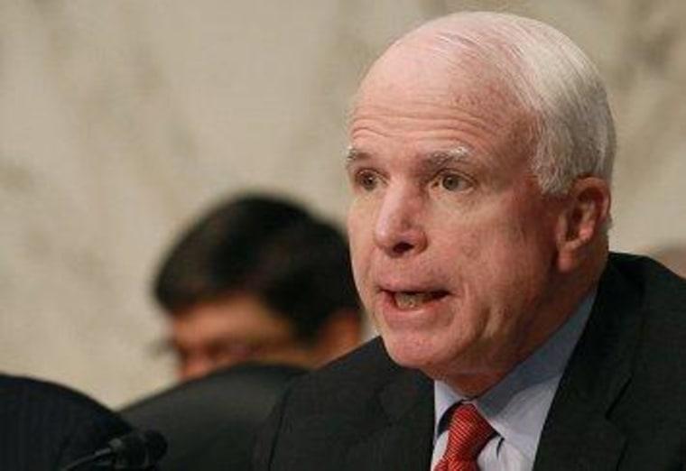 McCain on Afghanistan: leaving is an option