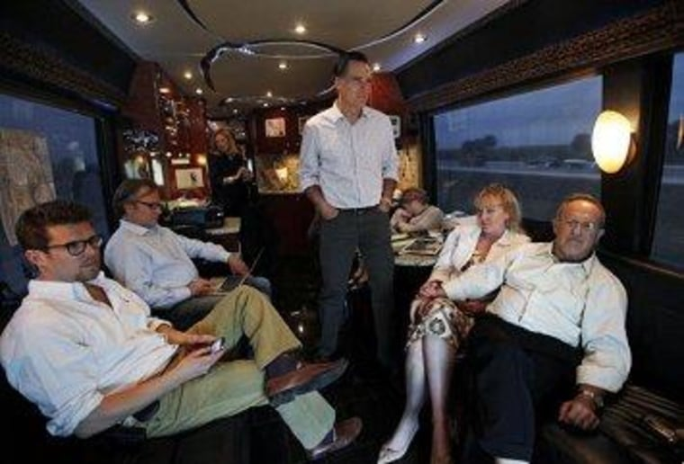 Romney and his campaign team linked arms and screwed up together.