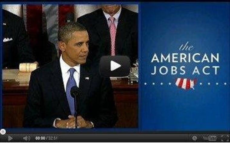 The American Jobs Act -- One Year Later