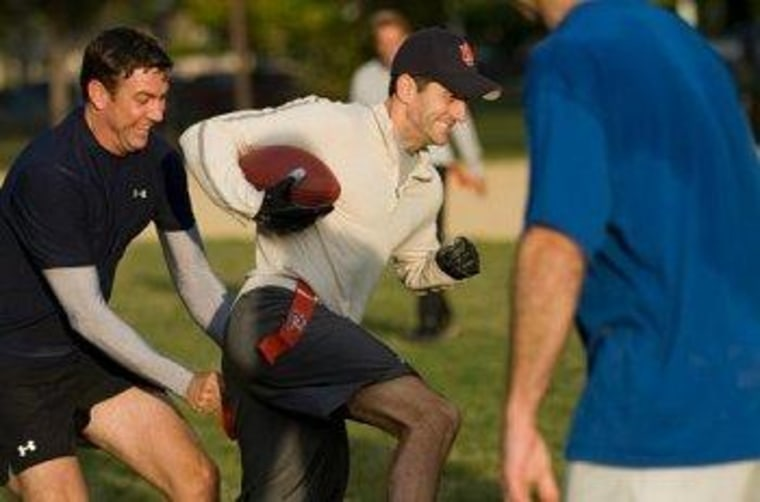 Paul Ryan is not above exaggerating his athletic prowess, among other things.