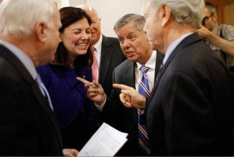 McCain, Graham, and Ayotte are pointing fingers in the wrong direction.