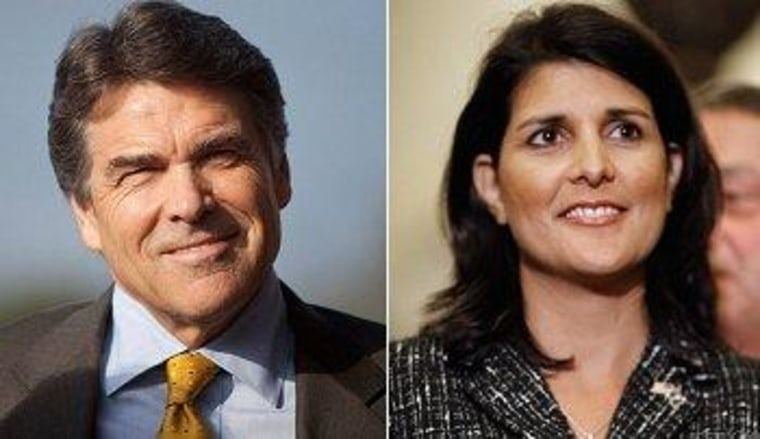 Perry, Haley face hospital pushback on healthcare