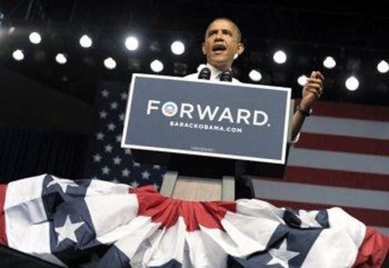 Obama in Jacksonville for a Thursday rally.