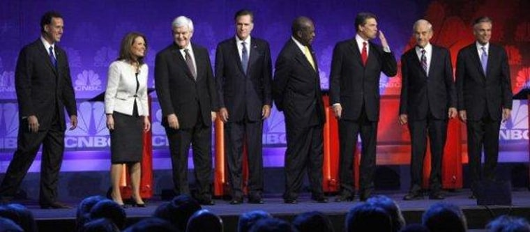 Romney and the rivals who failed to put him through his paces.