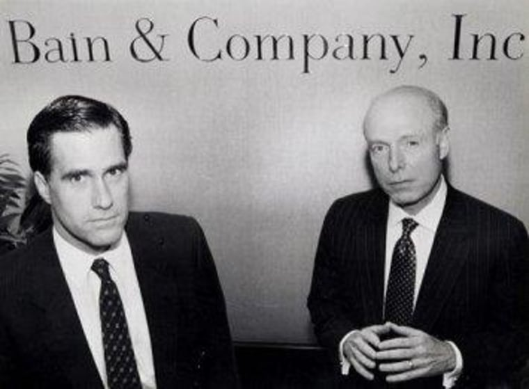Why it matters when, exactly, Romney left Bain