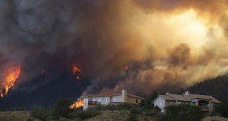 Even Colorado's wildfires can be politicized
