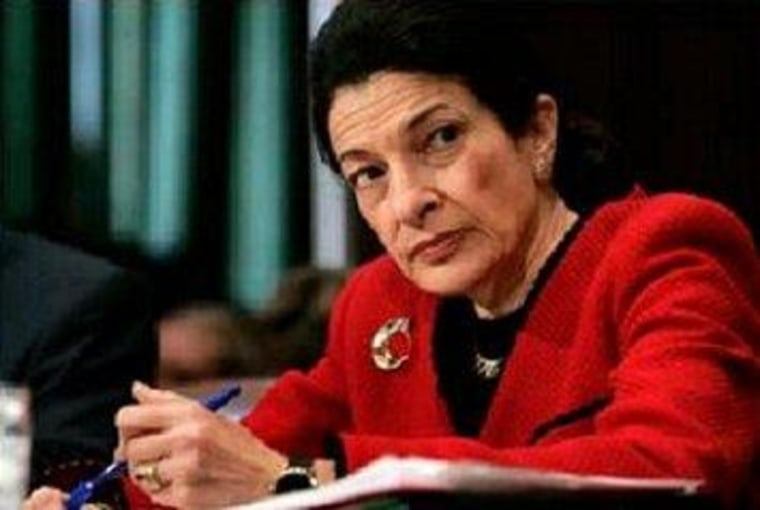 Snowe the latest senator to eye filibuster reform