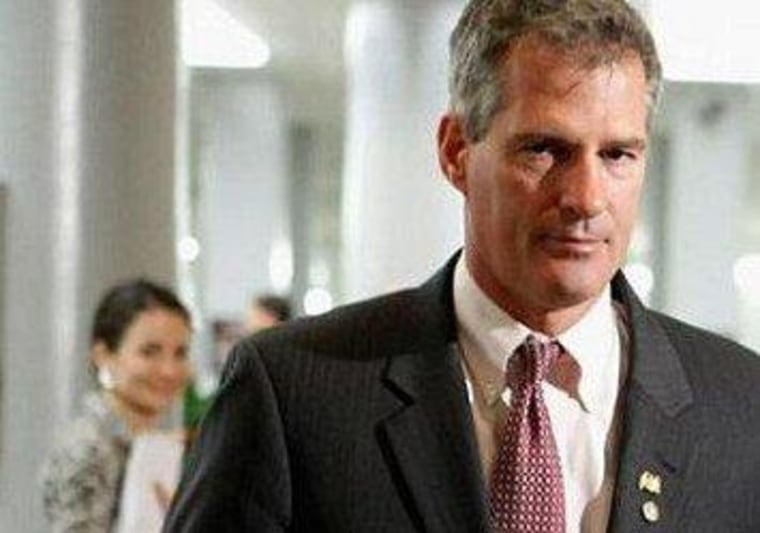 Scott Brown's 'secret' royal meetings