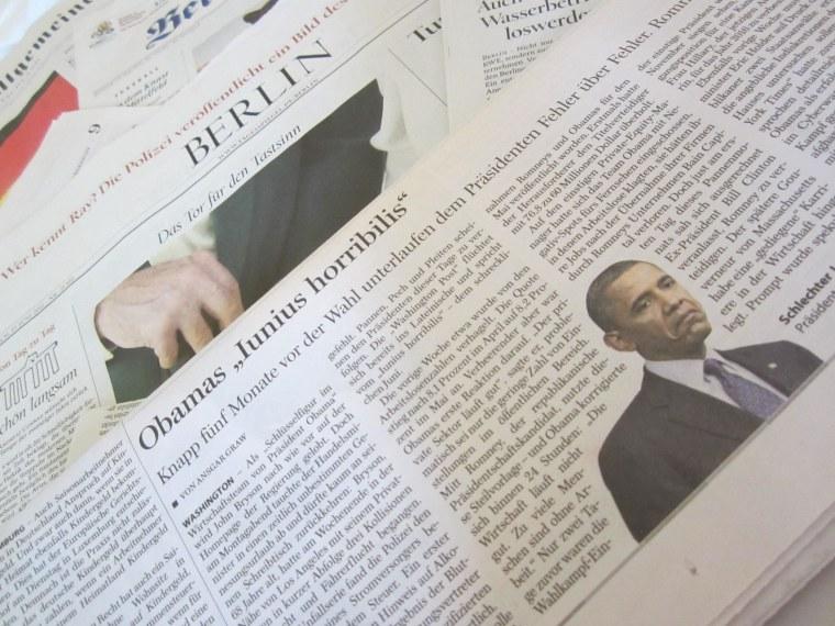 Obama's continental divide