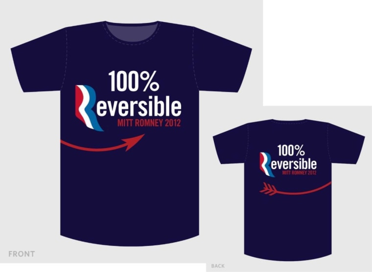 Jill Presti's shirt design here is similar to Tom Brown's equally winning suggestion, below.