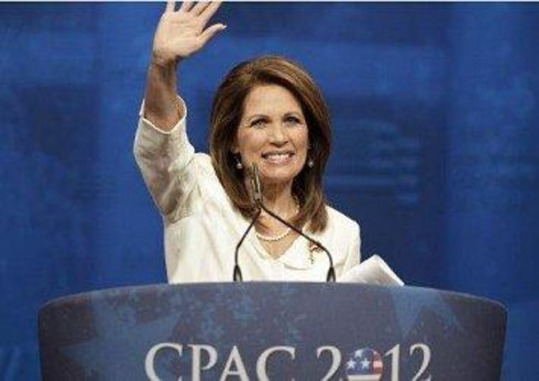 Bachmann fears 'suicide-bomber conference'