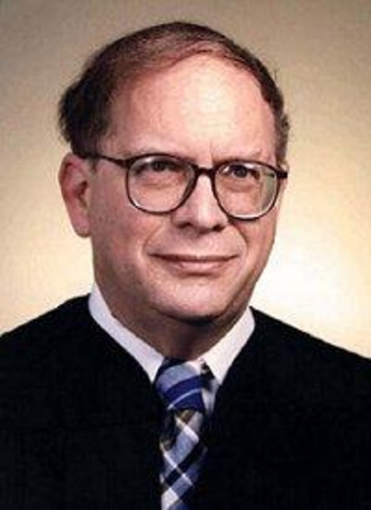 Appeals Court Judge Mike Boudin.