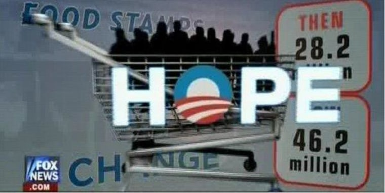 An image from Fox News' anti-Obama attack ad.