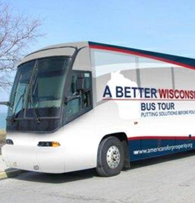 The AFP's non-partisan bus