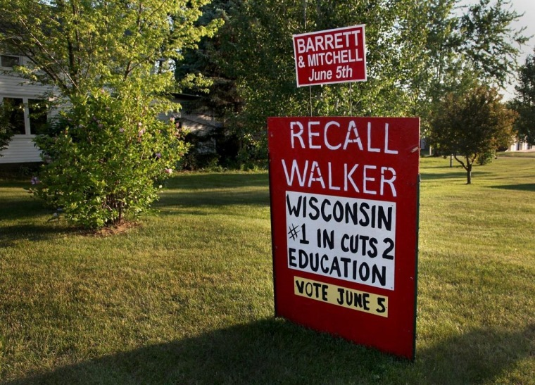 Wisconsin recall, homemade and not